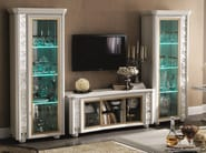 Classic style low TV cabinet MIRÒ | TV cabinet - Arredoclassic