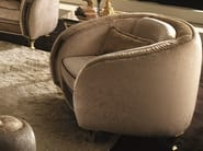 Deco upholstered armchair with armrests ROSSINI | Armchair - Arredoclassic