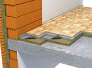 Thermal insulation panel / Sound insulation and sound absorbing panel in mineral fibre Steprock LD - ROCKWOOL ITALIA