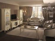 Classic style low modular TV cabinet TIZIANO | TV cabinet - Arredoclassic