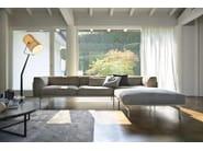 Design upholstered pouf L-SOFA | Pouf - Giulio Marelli Italia