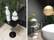 Standing stainless steel towel rack ACCESSORI VARI - Antonio Lupi Design®