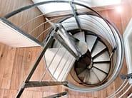 Spiral helical stairs VORTIKA - OFFICINE SANDRINI