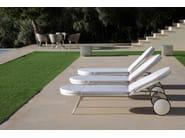 Recliner Batyline® garden daybed SHELL SUNBED | Garden sunbed - FueraDentro