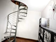 Classic spiral stairs VITRE - OFFICINE SANDRINI