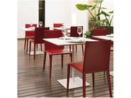 Design stackable chair NORMA   Chair - Arper