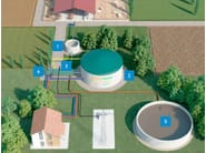 Biogas power plant MANNIEASY - MANNI ENERGY