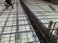 Formwork panel and lightening element for floor slab Solaio CUBE - Sicilferro Torrenovese