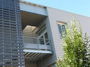 Wood panel for facade CANEXEL® CED'R-TEX - CanExel®