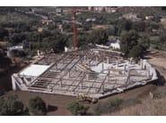 Mixed steel-concrete beam and column Trave reticolare SER - Sicilferro Torrenovese
