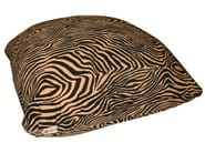 Cotton bean bag with removable lining CONFETTONE ZEBRA - Puffla