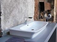 Single handle washbasin mixer without waste LIBERA | Washbasin mixer - NEWFORM