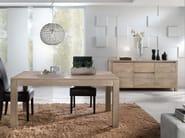 Solid wood sideboard ANGELA - Domus Arte