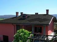 Monocrystalline photovoltaic roof tiles ARDOSOLAR 40x40 - ARDESIE CERAMICHE