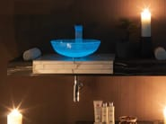 Alabaster washbasin top ST60LW - LA BOTTEGA DI MASTRO FIORE