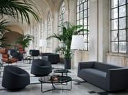 Fabric armchair CRYSTAL   Armchair - Tacchini Italia Forniture