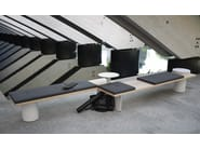 Modular bench GALLERIA - Tacchini Italia Forniture