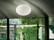 LED metal ceiling light GILBERT | Ceiling light - PANZERI