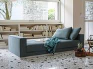 Sofa bed with removable cover HAVANA | Sofa - Tacchini Italia Forniture