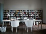Fabric guest chair PARENTESI LIGHT - Tacchini Italia Forniture