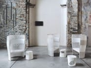 Birch armchair SOUTHBEACH - Tacchini Italia Forniture