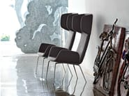 Upholstered wingchair with armrests LIGHT | Wingchair - Midj