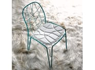 Stackable metal chair ARIA - Esedra by Prospettive