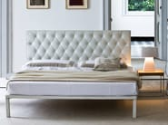 Double bed with upholstered headboard CARACALLA - Zanotta