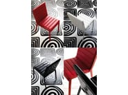 Upholstered fabric chair MOOD - Esedra by Prospettive
