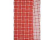 Trevira® CS fabric with graphic pattern REVERSO - LELIEVRE
