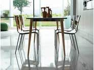 Extending square dining table DEJAVÚ - Midj