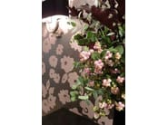 Iridescent fabric with floral pattern RUE SAINT SIMON - LELIEVRE