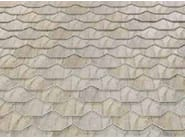 Roman and flat roof clay tile ARDESIA CERAMICA 25X40 EXAGONAL - ARDESIE CERAMICHE