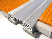 All metal watertight expansion joint cover, suitable for heavy duty loads.