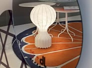LED cocoon resin table lamp with dimmer GATTO - FLOS