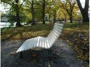 Wooden outdoor chair KAJEN SUN - Nola Industrier