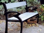 Wooden Bench with armrests KLARA - Nola Industrier