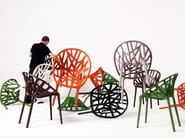 Stackable plastic chair VEGETAL - Vitra