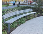 Sectional wooden Bench MEANDER - Nola Industrier