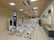 Sound absorbing ceiling tiles SOUNDLESS MODULAR - ITP