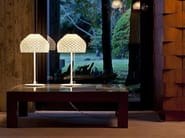 Halogen polycarbonate table lamp TATOU T1 - FLOS