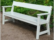 Wooden Bench with armrests VEJBY | Bench - Nola Industrier