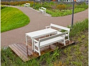 Wooden Table for public areas VEJBY | Table for public areas - Nola Industrier
