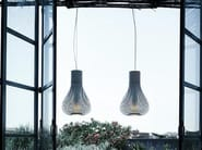 Stainless steel pendant lamp CHASEN - FLOS
