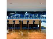 Adjustable ceiling aluminium spotlight COMPASS - FLOS