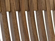 High-back wooden chair HELIOS | Chair - Passoni Nature