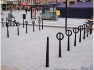 Steel Bicycle rack HOOP - Nola Industrier