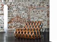 Relaxing steel armchair ARIA - La Cividina