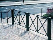 Steel pedestrian barrier CAMPO - Nola Industrier