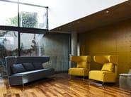 High-back fabric sofa MRS BUFFY | Sofa - La Cividina